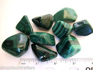 One-MalachiteTumbled-Stone-30mm-Healing-Crystal-Reiki-Absorbs-Negativity
