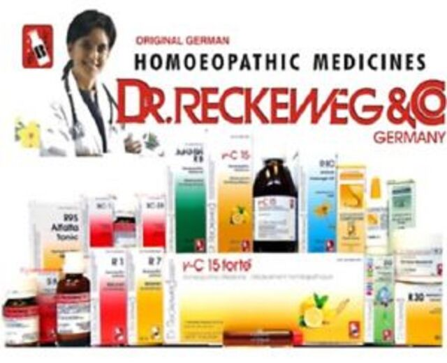 Dr Reckeweg Germany Homeopathic DROPS R1 TO R89 22 ml* - *Select any number*