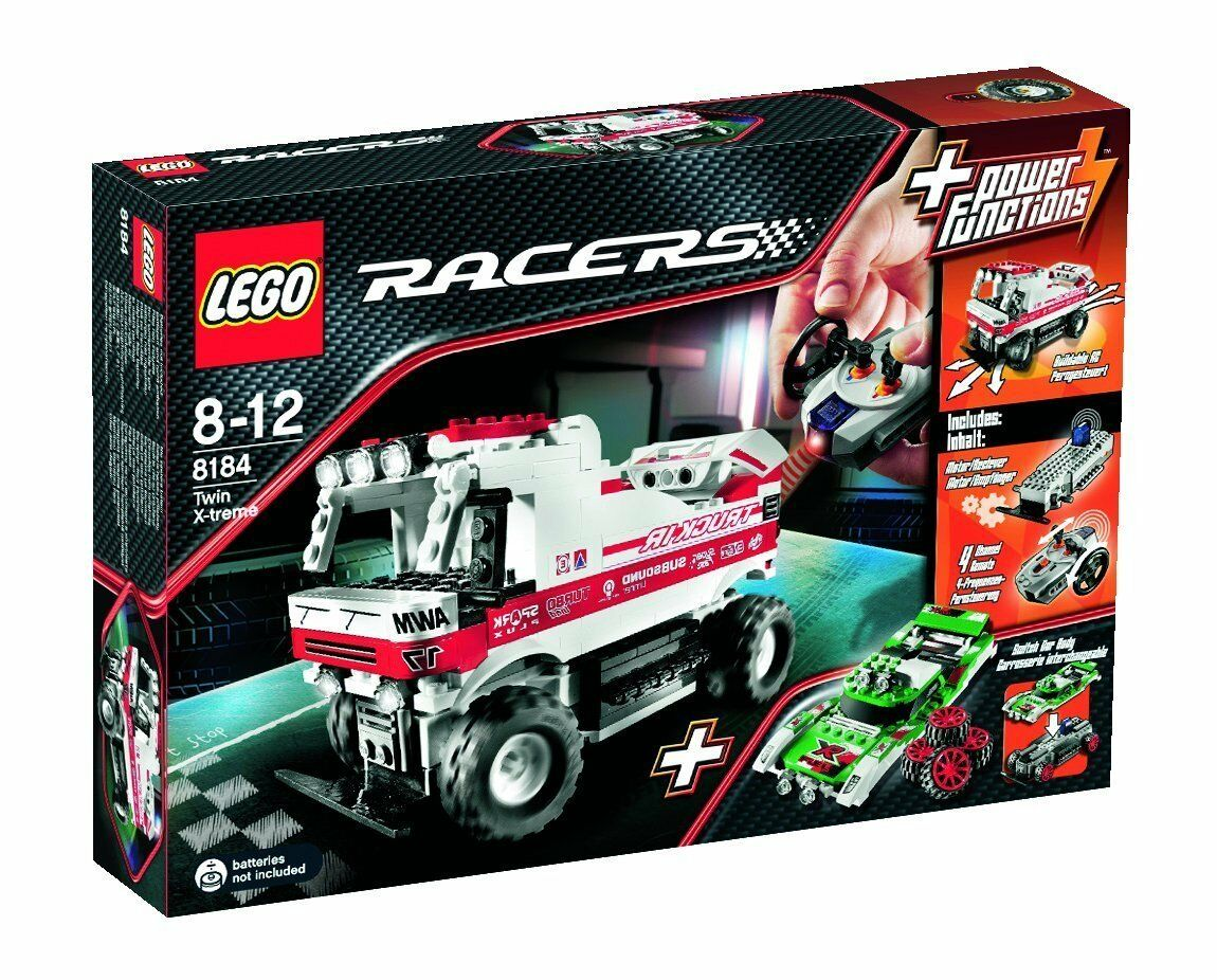 LEGO® Racers  8184 Twin X-treme RC NEU ungeöffnet RARITÄT