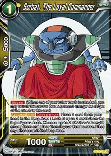Sorbet UC BT1-092  1 Dragon Ball Super BT1-092 The Loyal Commander