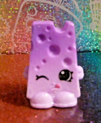 Shopkins Mystery Edition #3 CHEE ZEE Purple Glitter Exclusive Mint OOP