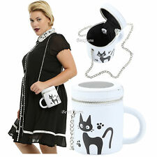 Studio Ghibli Kiki's Delivery Service Jiji Cat Mug Cup Crossbody Bag Tote Purse