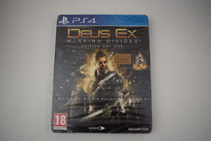 deus-ex-manking-divided-edition-day-one-steelbook-ps4-playstation-4-ps-4-neuf