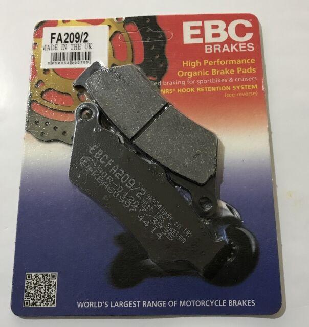 EBC FA209/2 Pasticche freno ant. per Honda NX650 97/99 06455-MAK-003