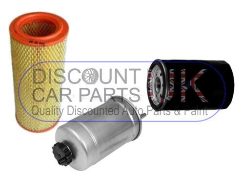 Oil Air Fuel Filter Fiat Ducato 2.8 JTD 8v 2800 Diesel 125 BHP 12//00-5//02