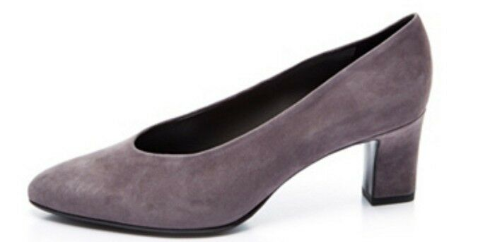 Peter Kaiser Mahirella High Vamp Court shoes In Grey Grey Grey SIZE UK 8 cdd087