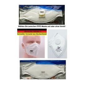 FFP3 Maske 3M Aura 9332+ Atemschutzmaske o. ZH Mundschutz Halbmaske zur Auswahl!