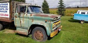 1962 GMC 5 ton truck