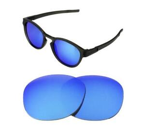 24aed4857b4 NEW POLARIZED REPLACEMENT ICE BLUE LENS FOR OAKLEY LATCH SUNGLASSES ...