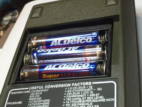 65 and 80 67 55 Alkaline Hewlett Packard Calculator Battery CASE  HP 35 45