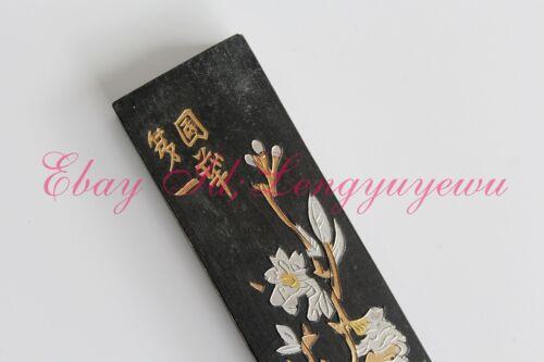 Tessai/'s Super Fine Top paint Soot InkStick HuKaiWen Calligraphy Painting Sumi-E