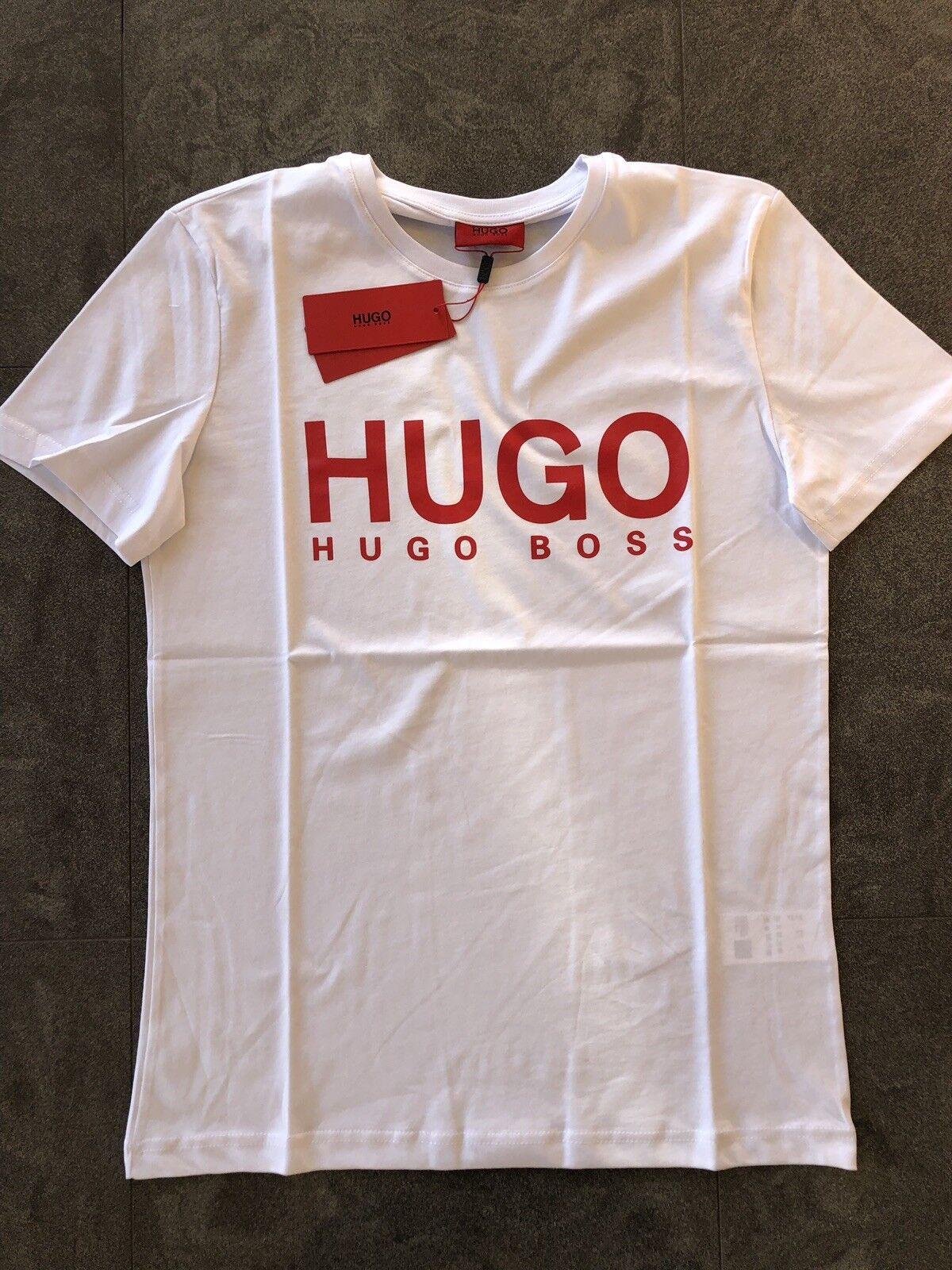 Hugo Boss  Modern  T-shirt  Size  M color White