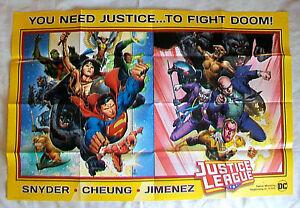2018 DC JUSTICE LEAGUE DOOM promo poster Scott Snyder Jim ...