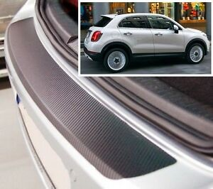 Fiat-500-X-Carbon-Style-rear-Bumper-Protector