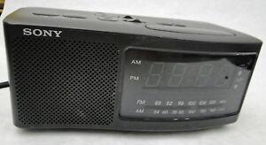 SONY-DREAM-MACHINE-Clock-Radio-AM-FM-Digital-ICF-C740-Dual-Alarm-Backup-Battery
