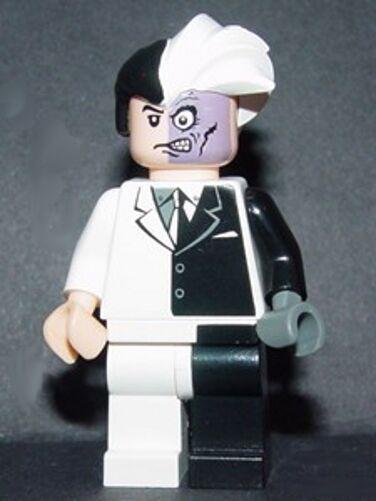 Lego-Batman   dos cara-Minifig   Minifigura