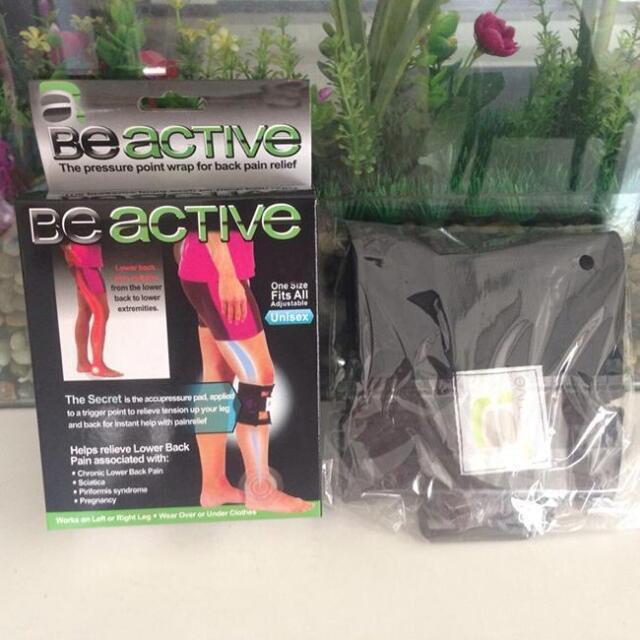 8271415ea6 Sport Pressure Point Brace Back Leg Pain Acupressure Knee Warp Sciatic  Nerve LG | eBay