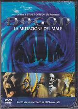 Dvd **DAGON ♦ LA MUTAZIONE DEL MALE** di Stuart Gordon H.P. Lovecraft nuovo 2001