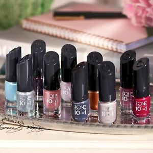 Oriflame The One 10 In 1 Nail Lacquer 1 Coat Nail Polish Ebay
