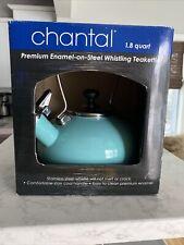 Chantal Arch Black Enamel on Steel Teakettle 1.8 Quart