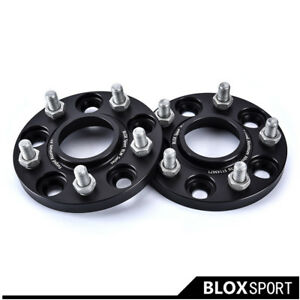 """HUB CENTRIC 1/"""" 25mm WHEEL ADAPTERS SPACERS 5x114.3 FOR CHRYSLER DODGE FORD"""