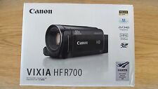 New Canon VIXIA HF R700 HD camcorder with 57x Optical Zoom Black- Expedited Ship