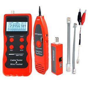 Testeur C 226 Ble Lan R 233 Seau T 233 L 233 Phone Fil Tracker Rj45 Rj11