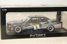 1/18 AUTOART MERCEDES-BENZ 500SEC , AMG #6 , SPA , 1989 ,  NEW , #88932