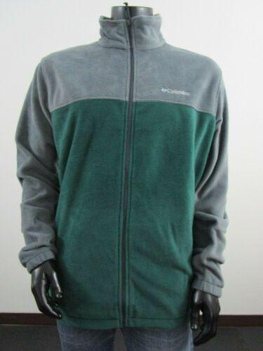 NWT Mens 1X-2X-3X Columbia Steens Mountain 2.0 Soft Fleece Full Zip Jacket Green