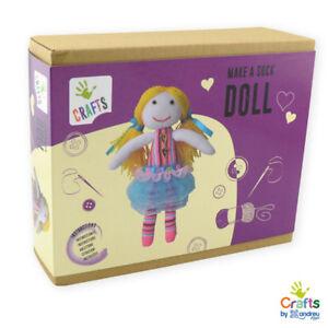 AndreuToys-Make-a-sock-Doll-Impara-a-fare-Bambole-BOX-IDEA-REGALO-NEW