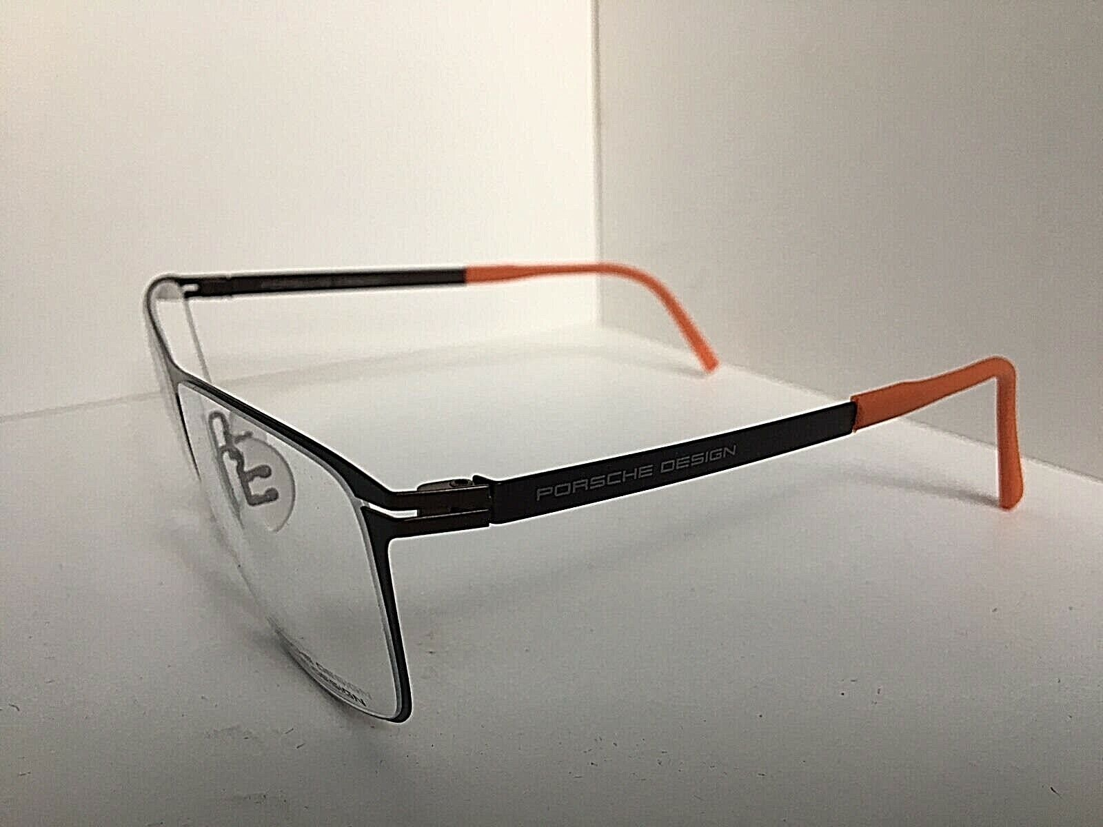 Porsche Design Men/'s Eyeglasses P/'8272 P8272 Half Rim Optical Frame 57mm