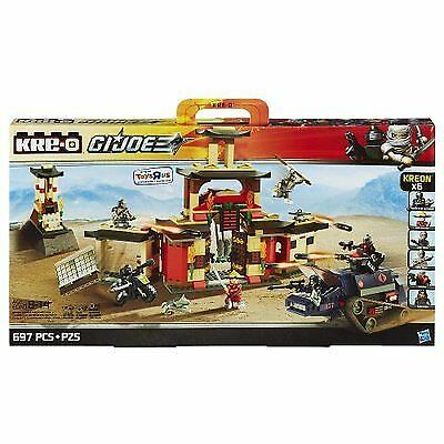 KRE-O GI JOE ARASHIKAGE DOJO SET Snake Eyes Timber HISS TANK Destro Baroness NEW