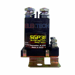 Stinger-SGP38-Power-Relay-Battery-Isolator-80AMP-High-Current-12V-Applications