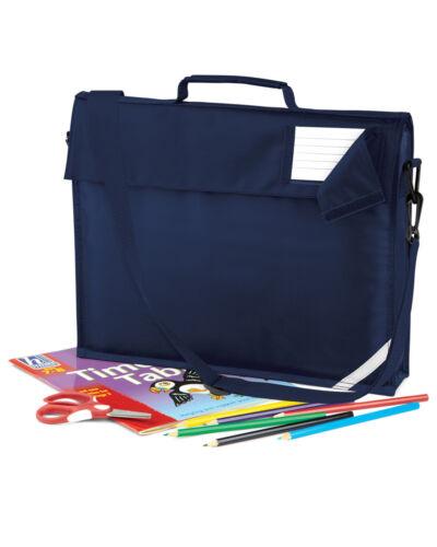 JUNIOR BOOK BAG SHOULDER STRAP POCKET HI VIS CARD HOLDER SCHOOL BOYS GIRLS OFFER
