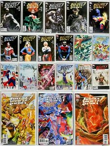 DC-Lot-20-Justice-Society-of-America-2-to-21-2007-2008-2009-VF-NM