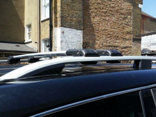 VW CADDY ALUMINIUM ROOF RAIL BARS LOCKABLE CROSS BARS 2004-2009 50 KG CAPACITY