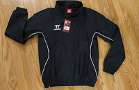 Warrior Wear Track Jacket Youth Large Zip Front