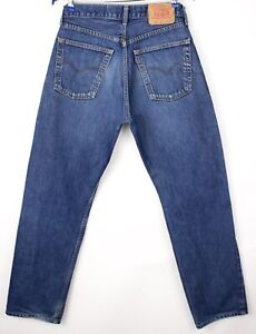 Levi's Strauss & Co Hommes 521 02 Slim Jeans Jambe Droite Taille W34 L32 AVZ475