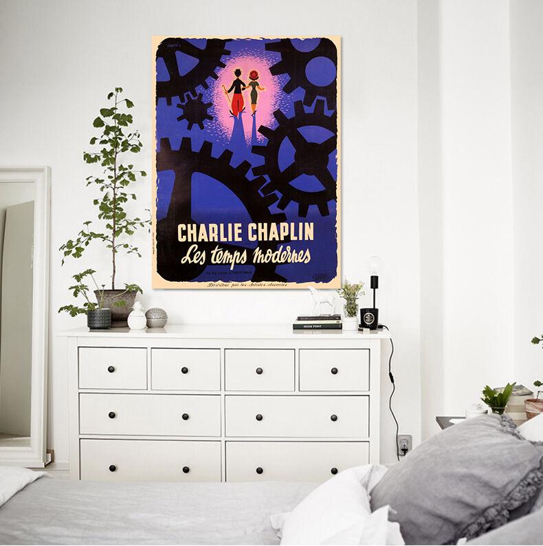 3D bluee Chaplin Gang Malerei 8 Fototapeten Wandbild BildTapete AJSTORE DE Lemon