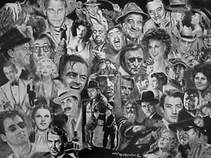 Hollywoods Finest Lithograph Robert Simon ARTIST PROOF