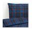 IKEA MOSSRUTA Bettwäsche,2-teilig,80x80//140x200cm Bettbezug//Kissenbezug Flanell
