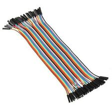 10cm 2.54mm Female/female Dupont Wire Jumper Cable for Arduino Breadboard O5g6
