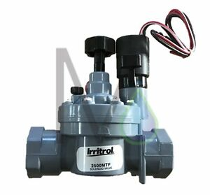 Details about Irritrol 2500MTF 25mm DC Solenoid Valve