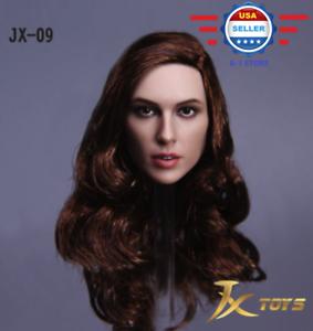 /> EN STOCK /< 1//6 Female Head Sculpt un Gal Gadot Wonder Woman pour Phicen Figure USA