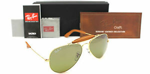 27a911c5b6f8d Image is loading NEW-RAY-BAN-3422Q-POLARIZED-CRAFT-OUTDOORSMAN-SUNGLASSES-