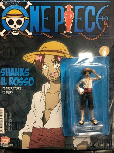 Action Figure One Piece Collection Collezione Miniature n 71 Shanks il Rosso