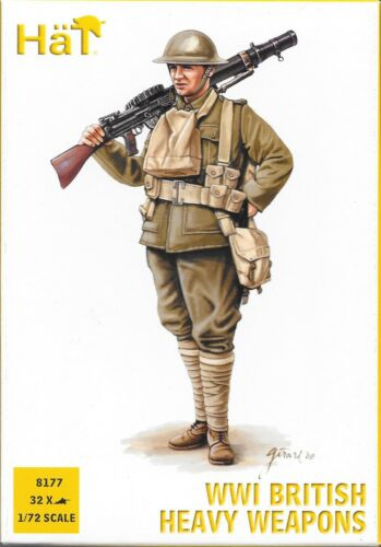 HäT/HaT WWI British Infantry Heavy Weapons Set 1/72 Scale 25mm