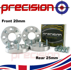 Staggered 20/25mm Bolt-On Wheel Spacers for Ford Fiesta 1983-2020