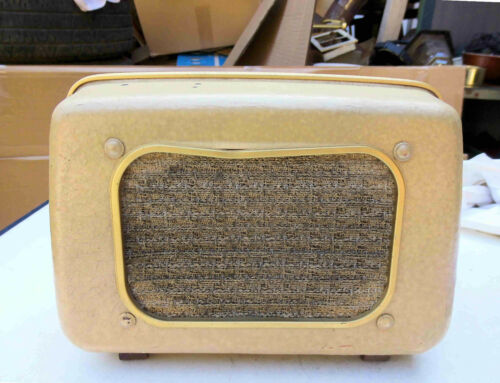 Antiker Kult Lautsprecher mit Marke Isophon Isonetta