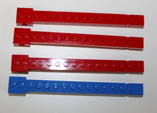 Lego 2350 Kranausleger Kranarm Rot oder Blau Rundloch 1 Stück 62
